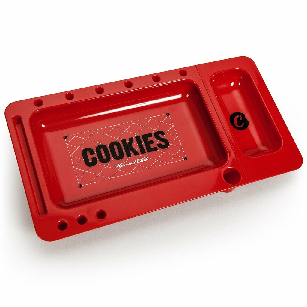 Cookies 'Harvest Club' Red Rolling Tray